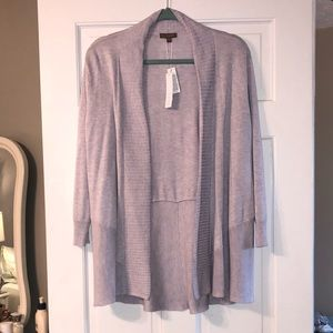 NWT Lilla P Lavender Sweater Cardigan